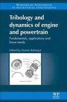 Tribology and Dynamics of Engine and Powertrain PDF