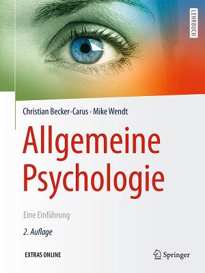 Allgemeine Psychologie PDF
