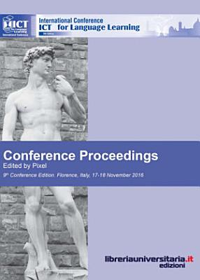 Conference proceedings  ICT for language learning  9th edition PDF