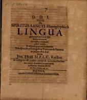 De Spiritus Sancti hieroglyphico lingua