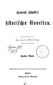Sämmtliche Novellen: Historische Novellen ; 1, Band 10