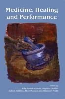 Medicine  Healing and Performance PDF