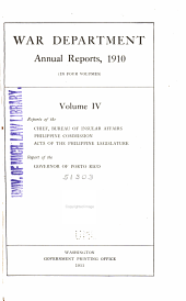 Acts of ... Philippine Legislature ...: Public Resolutions, Etc., from ...