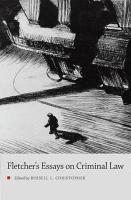 George Fletcher s Essays on Criminal Law PDF
