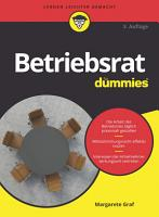 Betriebsrat f  r Dummies PDF