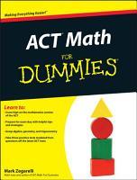 ACT Math For Dummies PDF