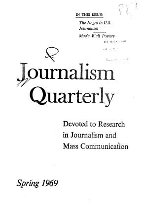 Journalism Quarterly PDF