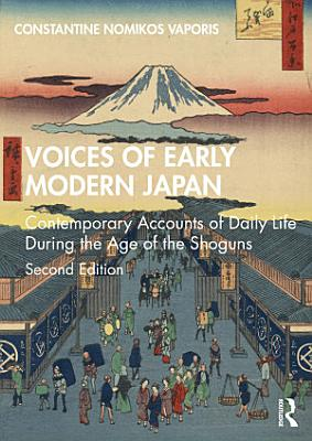 Voices of Early Modern Japan PDF