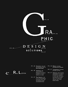 Graphic Design Solutions Book