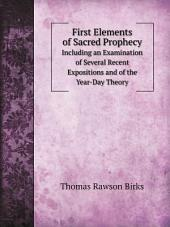 First Elements of Sacred Prophecy