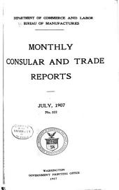 Monthly Consular and Trade Reports: Issues 322-324