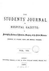The Students  Journal  and Hospital Gazette PDF