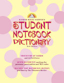 Random House Webster s Student Notebook Dictionary  Third Edition   Girl PDF