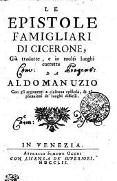 Le Epistole Famigliari Di Cicerone