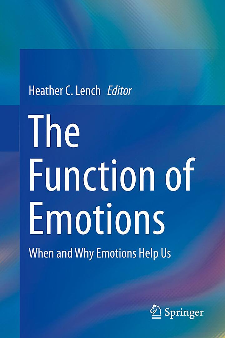 The Function of Emotions