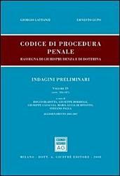 Codice di procedura penale  Rassegna di giurisprudenza e di dottrina  Aggiornamento 2003 2007 PDF