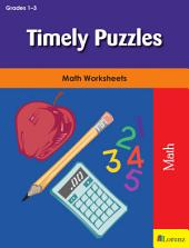 Timely Puzzles: Math Worksheets