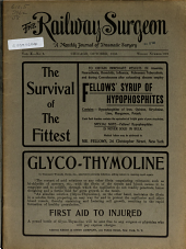 The Railway Surgeon: Volume 10, Issue 5
