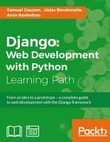 Django  Web Development with Python PDF