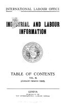 Industrial and Labour Information
