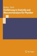 Einf  hrung in Statistik und Messwertanalyse f  r Physiker PDF