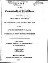 Laws of the Commonwealth of Pennsylvania: Volume 8