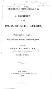 American Entomology: A Description of the Insects of North America, Volume 2