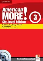 American More  Six Level Edition Level 3 Teacher s Resource Book with Testbuilder CD ROM Audio CD PDF