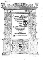 Statutorum & reformationum magnifice ciuitatis Senogallie. volumen. In sex libros distintum nuper excussum & castigatum. Atque per eximios. D. auditores ducales confirmatum