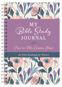 My Bible Study Journal Peace For My Anxious Heart Book PDF