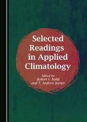 Selected Readings in Applied Climatology