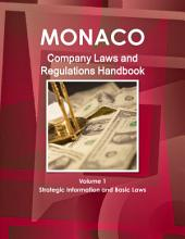Monaco Company Laws and Regulations Handbook