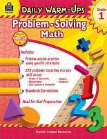 Problem Solving Math  Grade 1 PDF