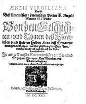Aeneis Virgiliana: d.i. Virgilii M. 12 Bücher von dem Helden Aeneas