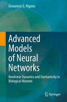 Advanced Models of Neural Networks PDF