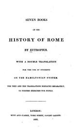 Seven Books of the History of Rome