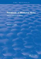 Handbook of Medicinal Herbs PDF