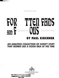 Forgotten Fads and Fabulous Flops PDF