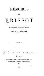 Mémoires de Brissot