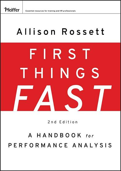 First Things Fast PDF