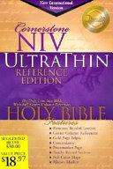 Cornerstone UltraThin Reference Bible PDF