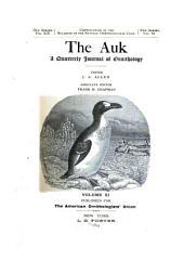 The Auk: Volume 11