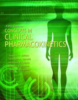 Concepts in Clinical Pharmacokinetics PDF