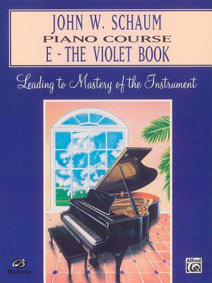John W  Schaum Piano Course  E  The Violet Book PDF