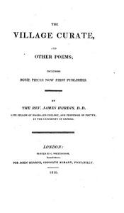 The village curate  and other poems Book