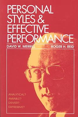 Personal Styles   Effective Performance