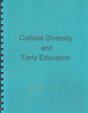 Cultural Diversity   Early Education