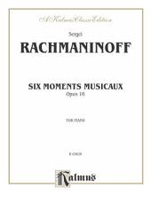 Six Moments Musicaux, Op. 16: Piano Collection