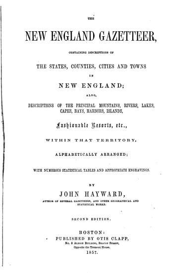 The New England Gazetteer PDF