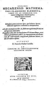 Elementa: libri XV